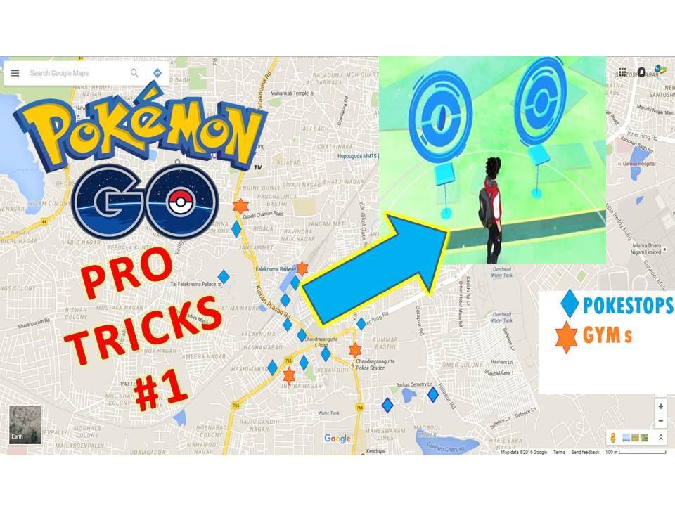 Pokémon Go Pro Trick #1 | Finding All Pokestops On World Map