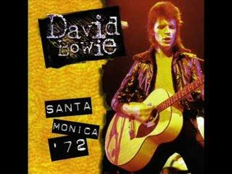 David Bowie: Waiting for the man - live @ Santa Monica 1972
