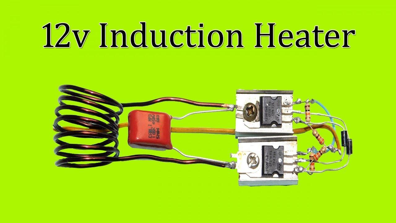 medium resolution of induction heater 12v dc youtubeinduction heater 12v dc