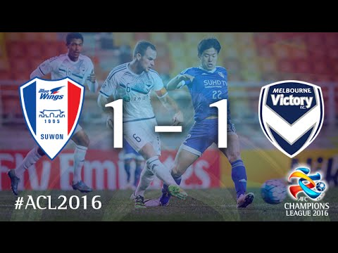 SUWON SAMSUNG BLUEWINGS vs MELBOURNE VICTORY: AFC Champions League 2016 (Group Stage)