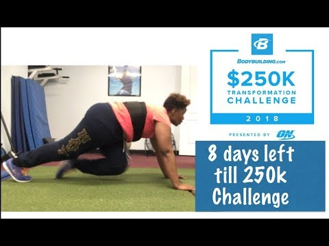 Bodybuilding 250k Transformation Challenge 2018 only 8 days till it starts