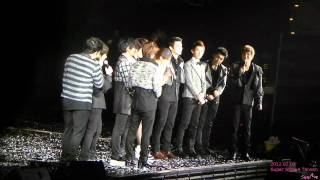20120203 Super Show 4 in Taipei You&I Dance with  fans.avi