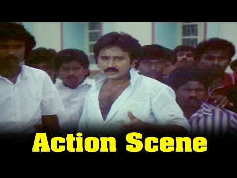 Thendral Varum Theru Movie : Ramesh Aravind, Action Scene