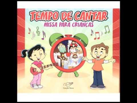 CD Tempo De Cantar - Missa Para Crianças - Que Alegria