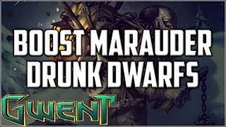 Gwent Boost Marauder ~ Get Drunk ~ Gwent Deck Gameplay