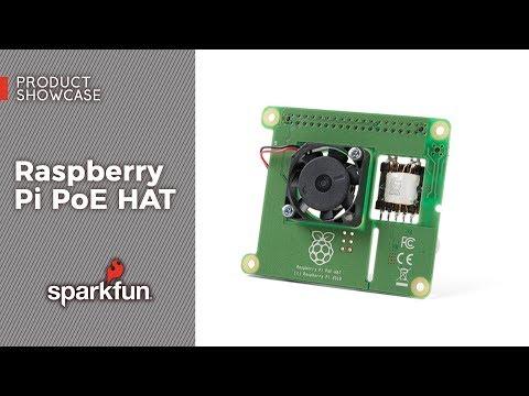 Product Showcase: Raspberry Pi PoE HAT