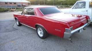 ***SOLD***1965 GTO Test Drive For Sale, Passing Lane Motors, Classic Cars