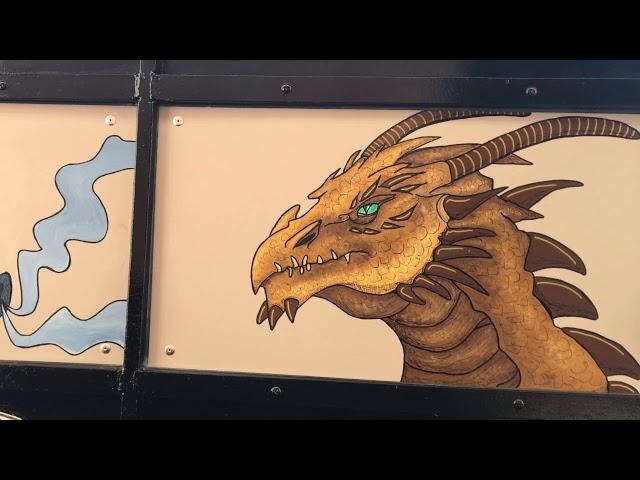 Le van du chasseur de dragons