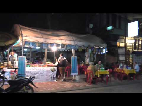 What to do a night in Vientiane, Laos.