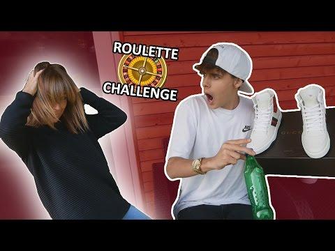 SE LA FLIPPI VUOTA VINCI UN PAIO DI GUCCI !! ROULETTE CHALLENGE VS MY MOM