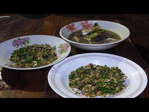 how to cook  Fish curry Village food recipes in Laos