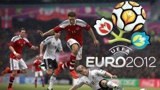 Euro 2012 England vs Germany Gameplay