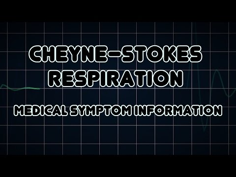 Cheyne–Stokes respiration (Medical Symptom)