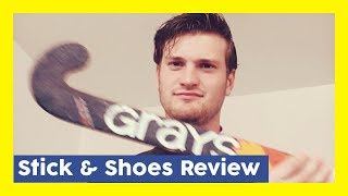 Field Hockey Shoes & Stick Review + Passion For Hockey - Tomas Hockeyvlog #5 | HockeyheroesTV