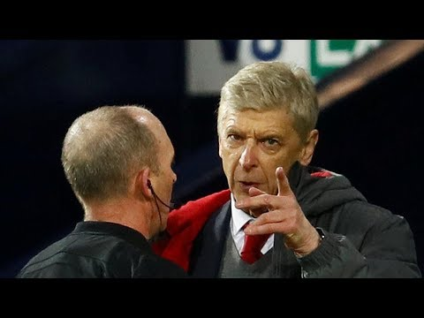 Arsene Wenger fumes at refereeing in his record 811th Premier League match in charge