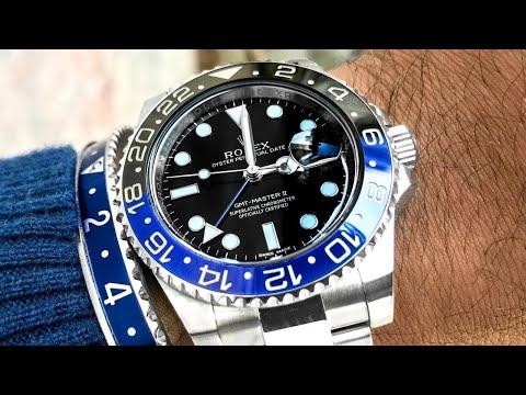 Rolex Batman Review – GMTMaster II 116710 BLNR