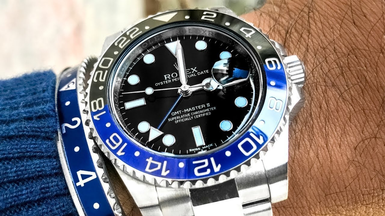 Rolex Gmt Master Ii Blnr Review
