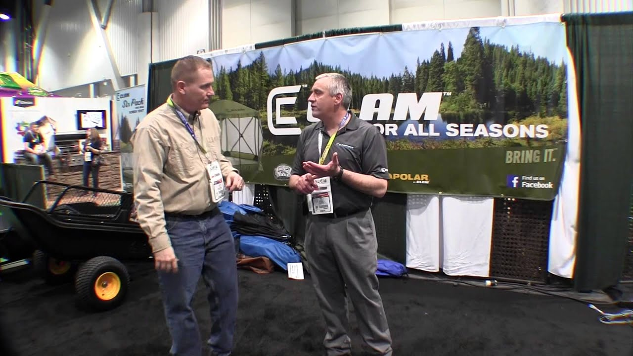 The Clam Pop Up Screen Tent By John Young of the Weekend Handyman - YouTube  sc 1 st  YouTube : clam 1660 mag screen tent - memphite.com