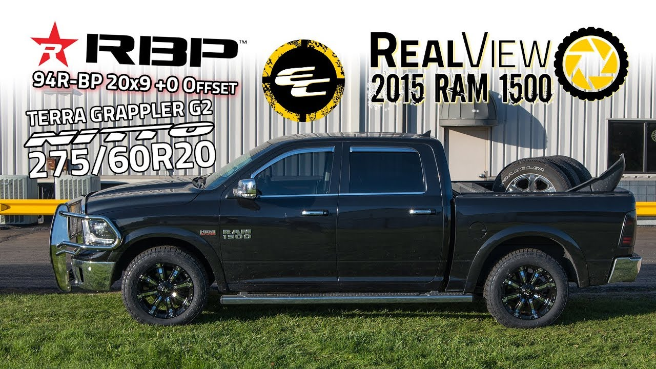 275 60r20 In Inches >> Realview 2015 Ram 1500 W 20x9 Rbp 94r Bp 275 60 Nitto G2s