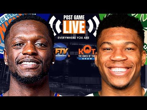 New York Knicks Vs Milwaukee Bucks Post Game Show: Highlights, Analysis & Live Callers