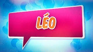 Joyeux anniversaire Léo
