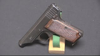 Japanese 7.65mm Hamada Pistol