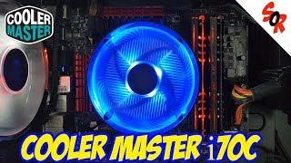 COOLER MASTER i70c CPU COOLER REVIEW !!! + INSTALLATION + CPU TEST