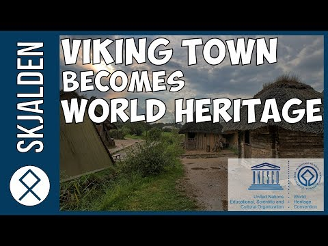 Ancient Viking Town and Dannevirke added to Unesco's World Heritage List