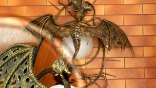 Дизайн светильников .Светильник кованый дракон(посмотреть http://kovka-dveri.com/lekarstva30044...Дизайн светильников , светильник кованый дракон Дизайн светильников..., 2016-09-06T10:14:18.000Z)