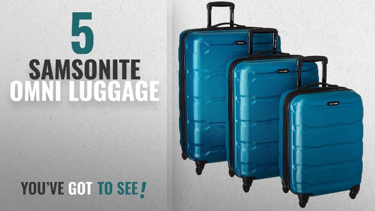 55c0c7fe943b Top 10 Samsonite Omni Luggage [2018]: Samsonite 68311-2479 Omni PC Hardside  Spinner 20 24 28,