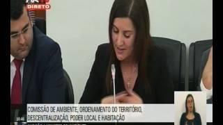 Emília Cerqueira questiona Ministro do Ambiente