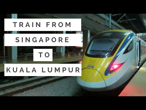 🚆 How To Take Train From 🇸🇬 Singapore (Woodlands) to 🇲🇾 Kuala Lumpur (KL Sentral) | irene ijoli