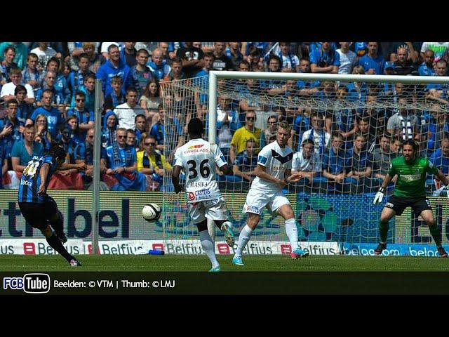2012-2013 - Jupiler Pro League - PlayOff 1 - 10. Club Brugge - Racing Genk 1-0