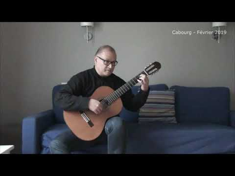 Fony aho – Henri Ratsimbazafy - Transcr. Etienne Ramboatiana (Bouboul) – Guitare classique malagasy