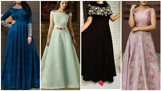 Simple gown design/ gown designs for girls/ latest gown design 2019