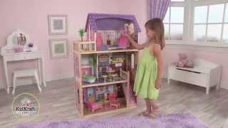 видео Кукольный домик KidKraft Пенелопа