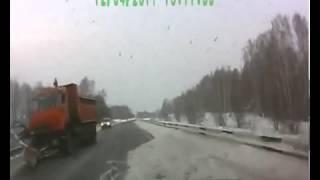 Crazy Russian Near Miss Dash Cam Car Accident