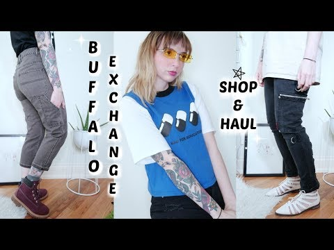 Shop with me! Buffalo Exchange Haul!