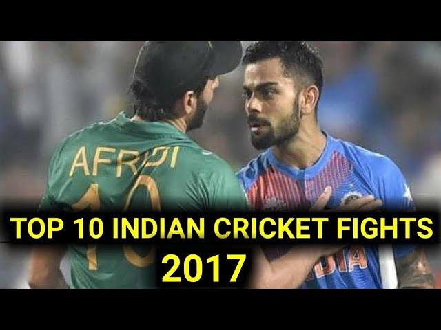 Indian cricket teams top ten fight's