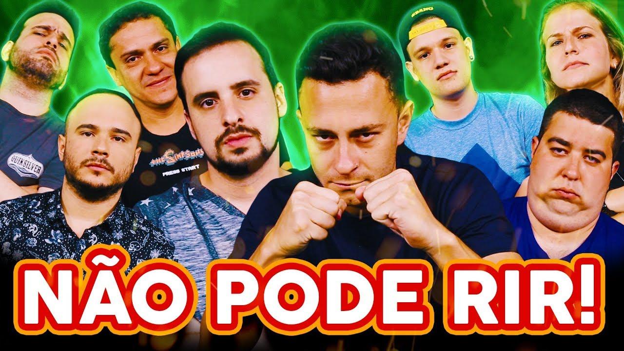 NÃO PODE RIR! com DESIMPEDIDOS (Fred, Chicungunha, Ale Xavier e Tony Pezão)