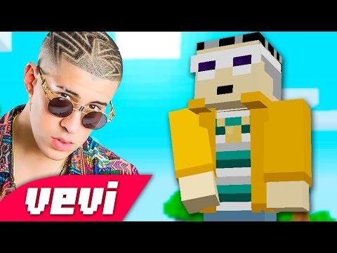 Bad Bunny - Amorfoda (PARODIA) CUBOFODA - Canción Minecraft