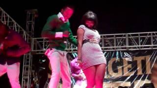Wema Sepetu & Diomond (LIVE Perfomance @Fiesta Morogoro) www.teentz.com
