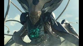 人类用20年建立防御武器,结果被外星人1秒毁灭,一部超爽的灾难科幻电影
