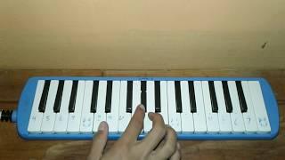 ETA TERANGKANLAH Melodies Tutorial|Pianika!!!