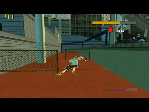 Cxbx Reloaded (Xbox Emulator) - Jet Set Radio Future (Semi-Playable / 35~60 FPS)