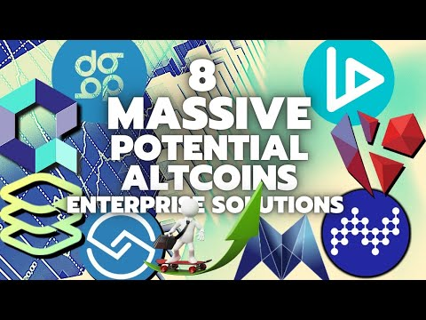 8 Altcoins With MASSIVE POTENTIAL - Enterprise Solutions 🚀