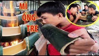 Anh Hai Vlog | Thử Làm Món Mì Ống Tre Cùng Trẻ Trâu Team Anh Ba Phải TV...