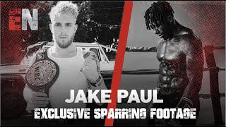 EXCLUSIVE FOOTAGE OF JAKE PAUL TRAINING | ESNEWS BOXING