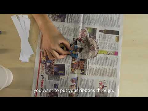 Craft Things: Paper Mache Mask