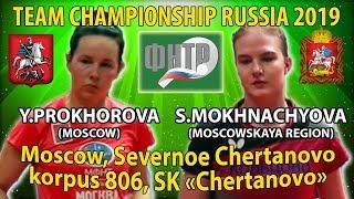 Чемпионат России 2019 Прохорова - Мохначева 1/8 финала
